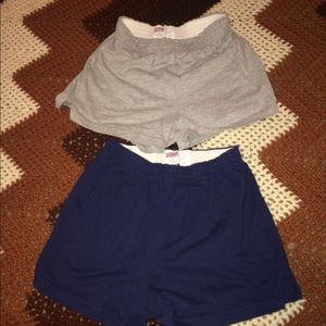 2 pairs of SOFFE shorts XS